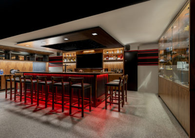 Home bar Perth custom designed and handcrafted throughout.