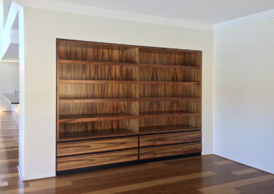 Built in bookshelves, Tasmanian Blackwood, Mount Lawley